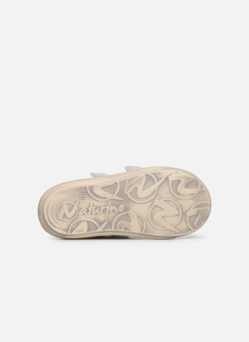 Sneakers Naturino Cocoon VL Bianco immagine dall'alto