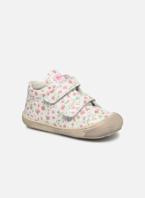 Trainers Naturino Cocoon VL White detailed view/ Pair view
