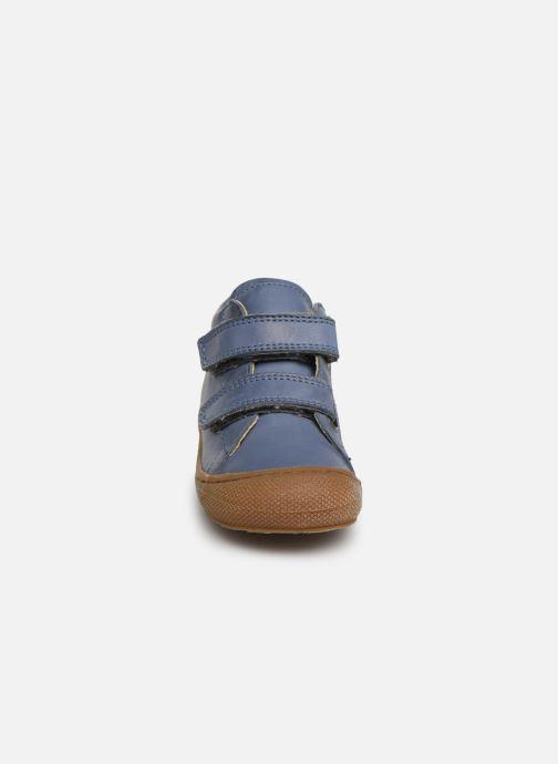 Sneaker Naturino Cocoon VL blau schuhe getragen