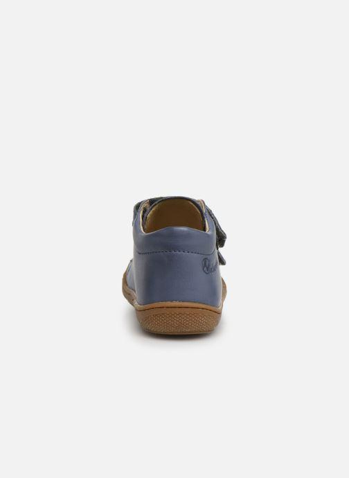 Sneaker Naturino Cocoon VL blau ansicht von rechts