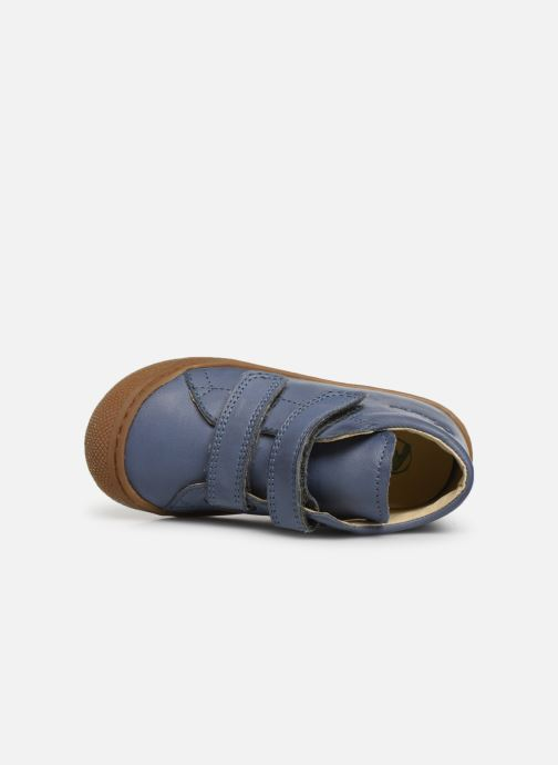 Sneaker Naturino Cocoon VL blau ansicht von links