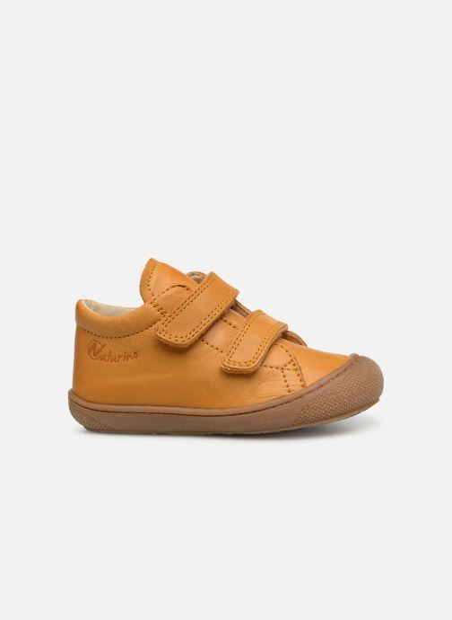 Trainers Naturino Cocoon VL Yellow back view