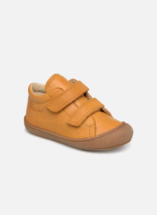 Trainers Naturino Cocoon VL Yellow detailed view/ Pair view
