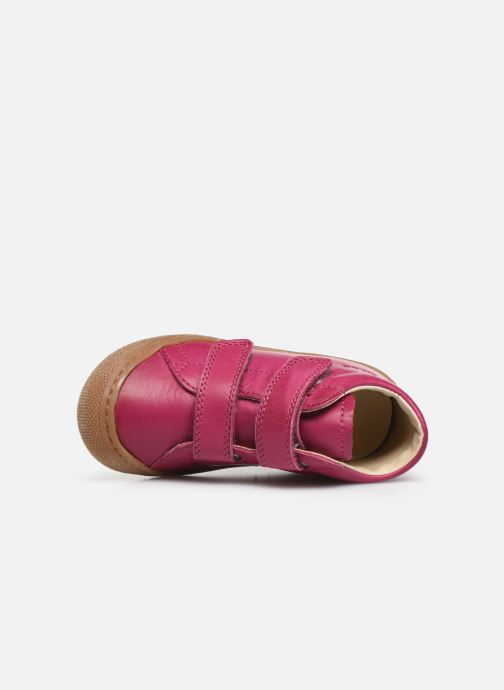 Trainers Naturino Cocoon VL Pink view from the left