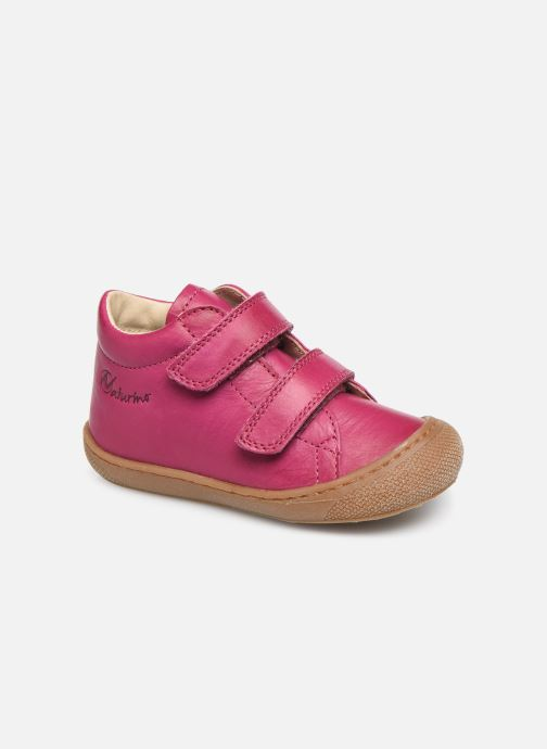 Trainers Naturino Cocoon VL Pink detailed view/ Pair view
