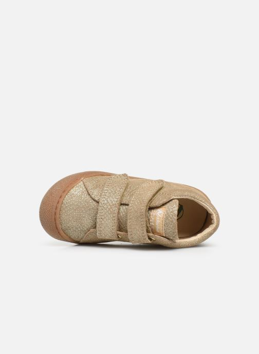 Sneakers Naturino Cocoon VL Goud en brons links