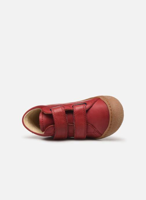 Sneaker Naturino Cocoon VL weinrot ansicht von links