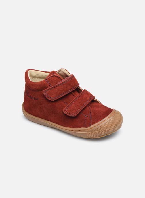 Baskets Naturino Cocoon VL Rouge vue détail/paire