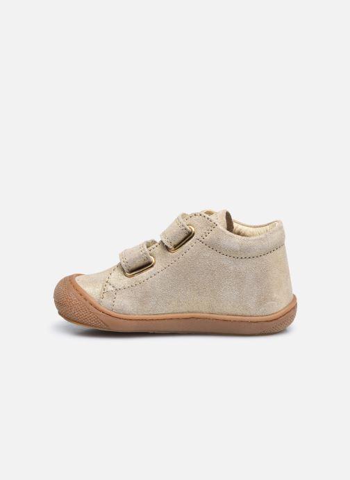 Sneaker Naturino Cocoon VL gold/bronze ansicht von vorne