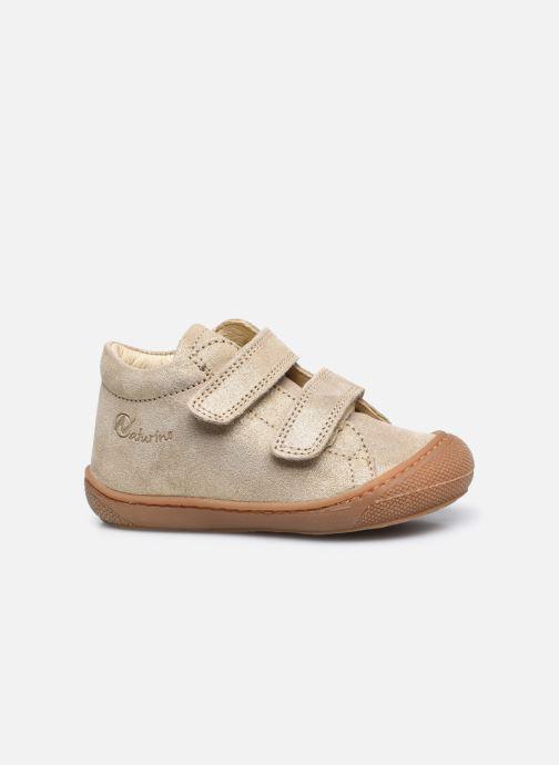 Sneaker Naturino Cocoon VL gold/bronze ansicht von hinten
