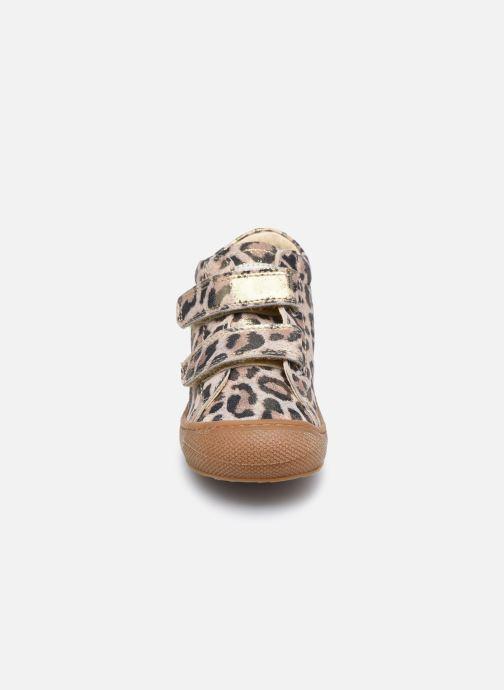 Sneaker Naturino Cocoon VL gold/bronze schuhe getragen