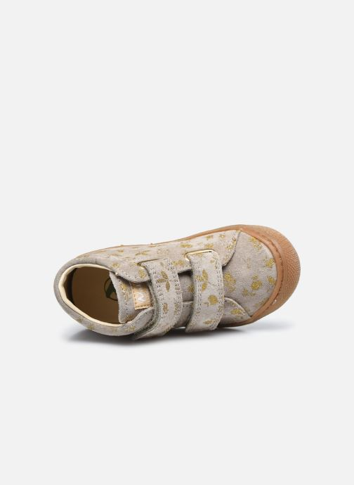 Sneaker Naturino Cocoon VL gold/bronze ansicht von links