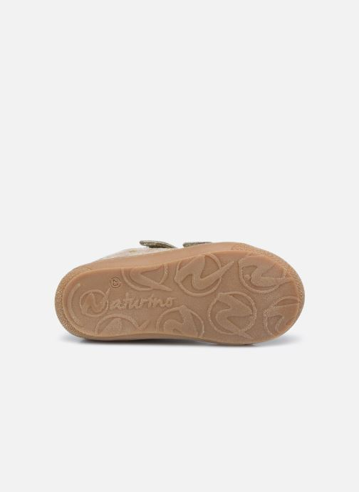 Sneakers Naturino Cocoon VL Goud en brons boven