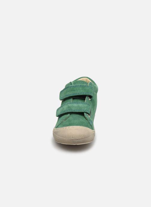 Baskets Naturino Cocoon VL Vert vue portées chaussures