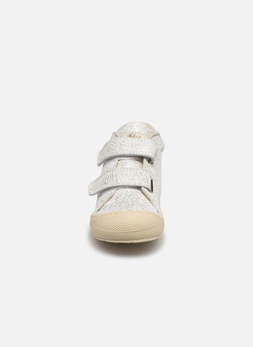 Baskets Naturino Cocoon VL Argent vue portées chaussures