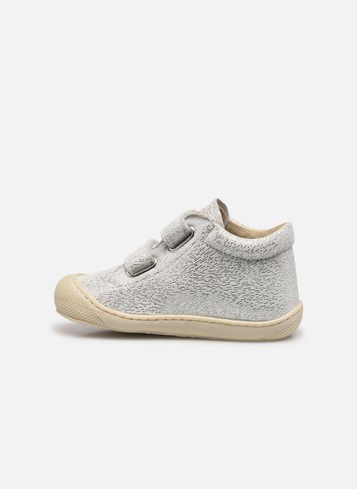 Sneakers Naturino Cocoon VL Zilver voorkant