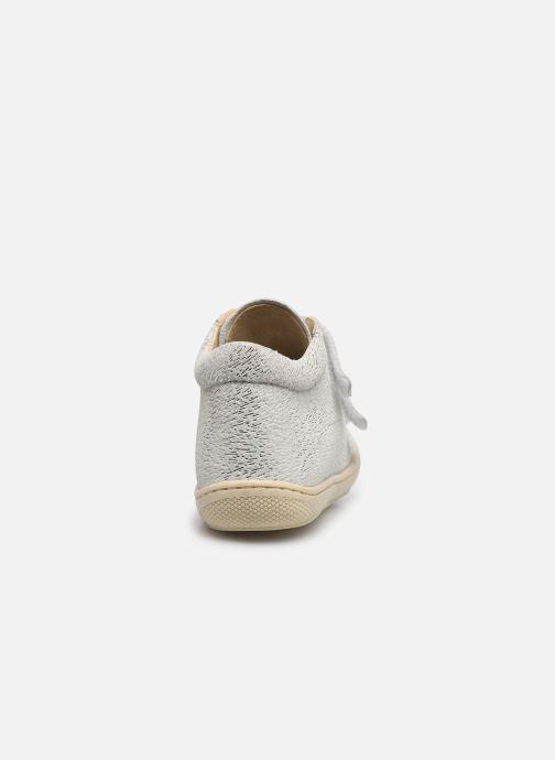 Sneakers Naturino Cocoon VL Zilver rechts