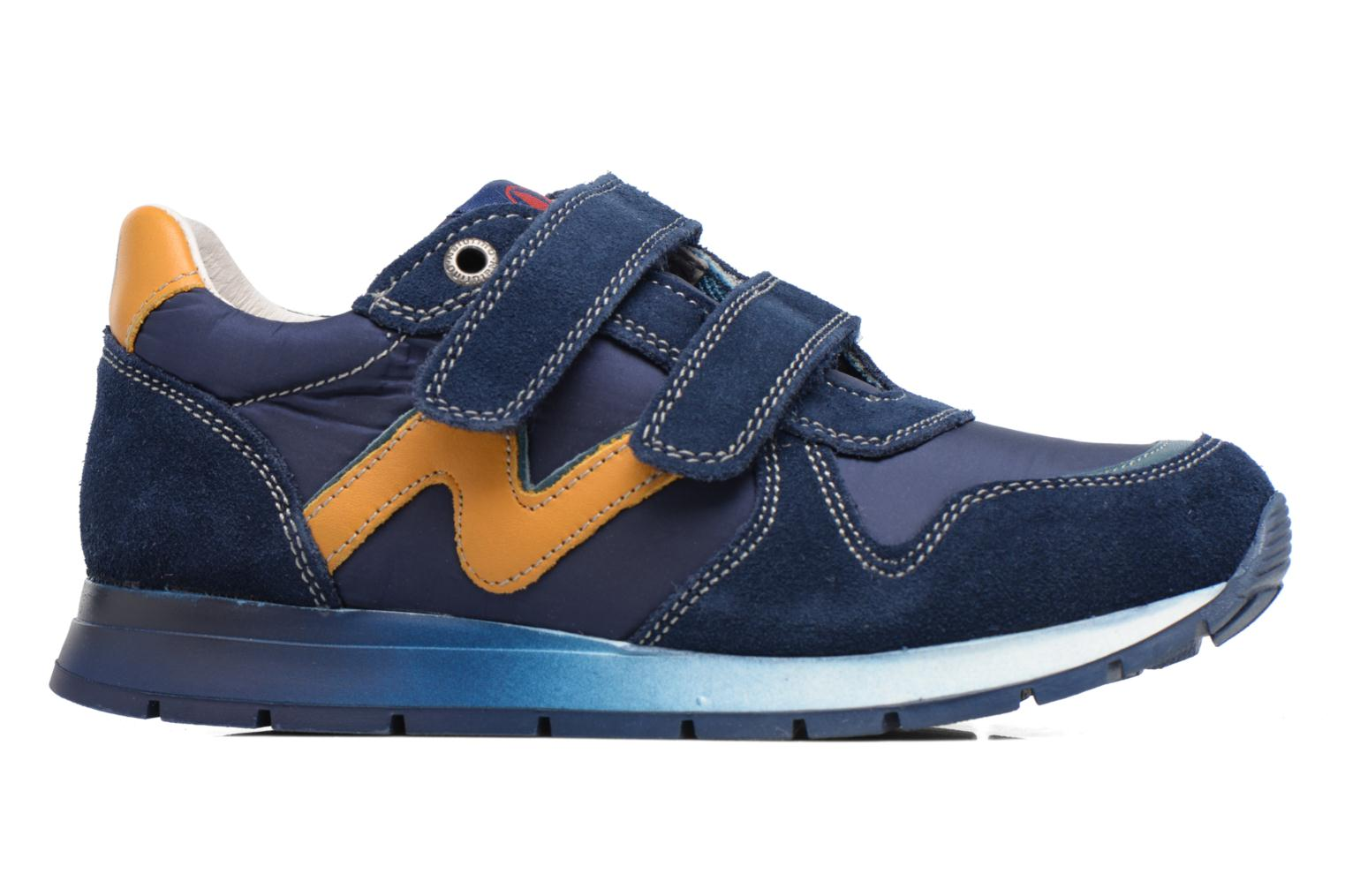 Trainers Naturino Bomba VL Blue back view