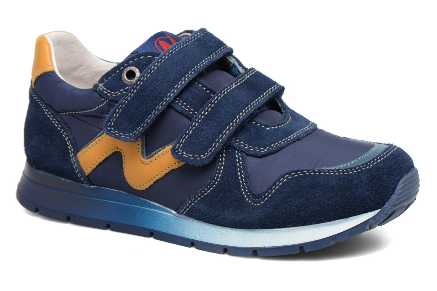 Trainers Naturino Bomba VL Blue detailed view/ Pair view