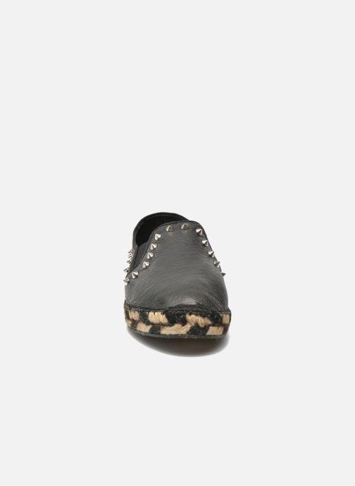 Espadrilles Ash Zen Noir vue portées chaussures