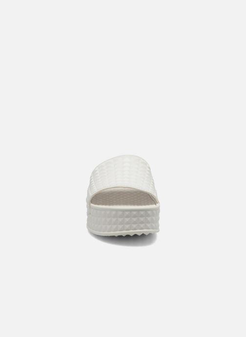 Mules et sabots Ash Scream Blanc vue portées chaussures