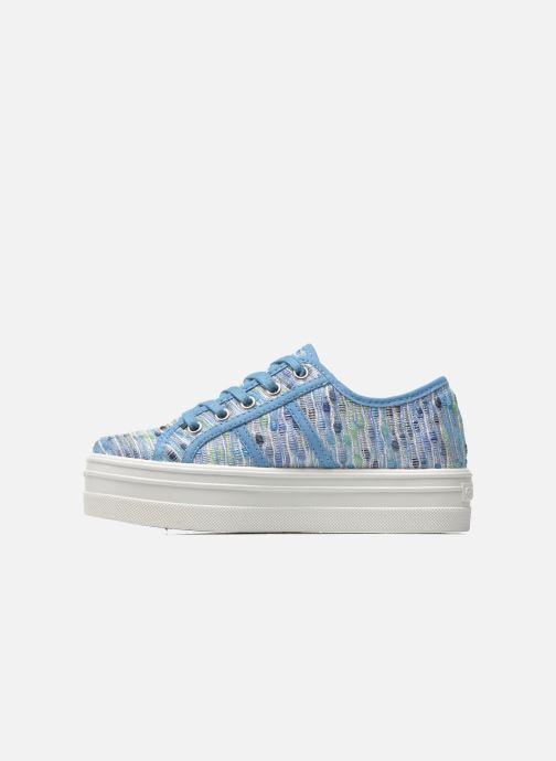 Sneaker Victoria Basket Puntos Brillo Plataf Kids blau ansicht von vorne