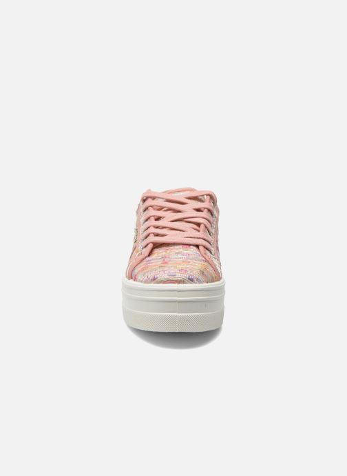 Sneakers Victoria Basket Puntos Brillo Plataf Kids Roze model