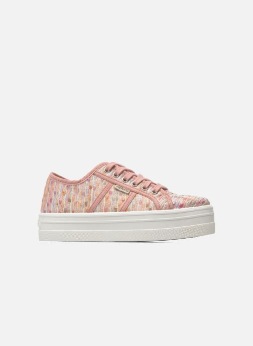 Sneakers Victoria Basket Puntos Brillo Plataf Kids Roze achterkant