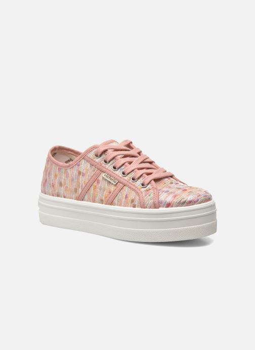 Sneakers Victoria Basket Puntos Brillo Plataf Kids Roze detail