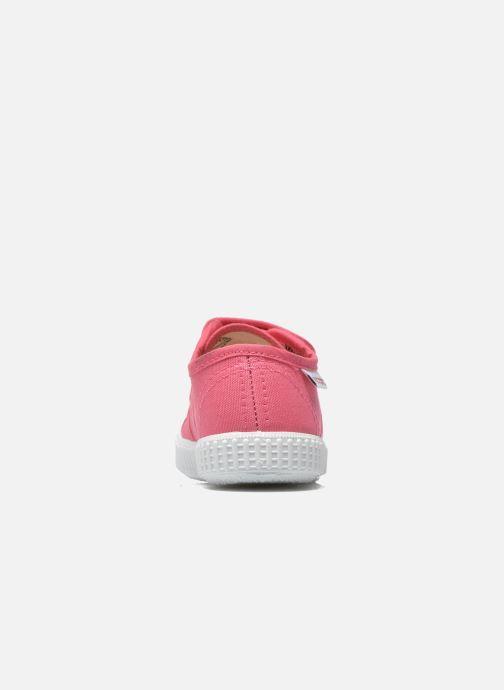 Sneakers Victoria Basket lona Dos Velcos Roze rechts