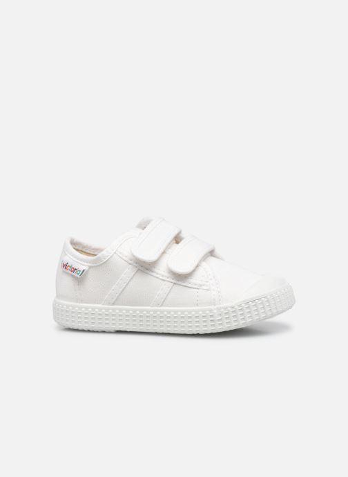 Sneakers Victoria Basket lona Dos Velcos Bianco immagine posteriore