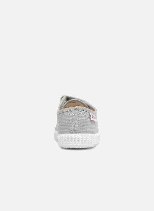 Sneaker Victoria Basket lona Dos Velcos grau ansicht von rechts