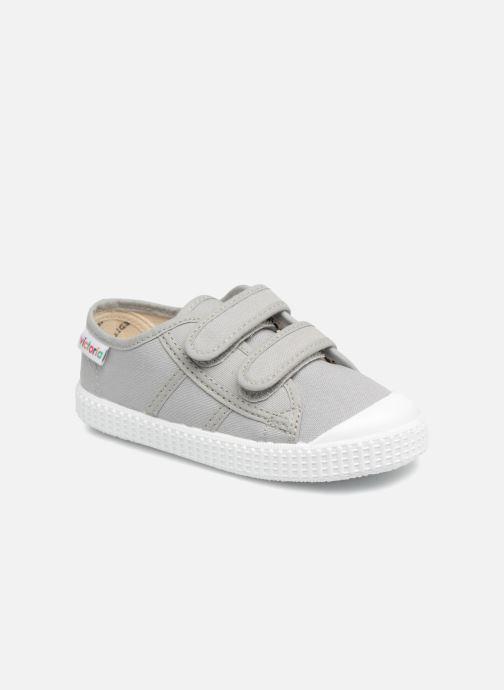 Sneaker Victoria Basket lona Dos Velcos grau detaillierte ansicht/modell