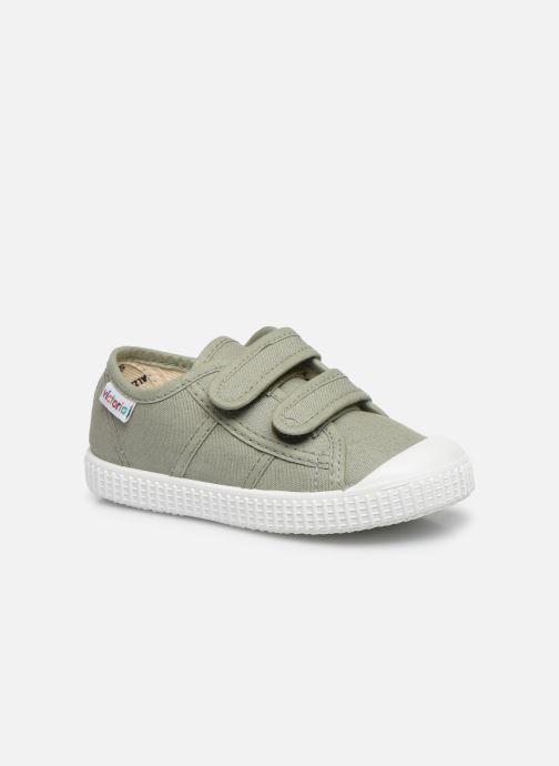 Sneakers Bambino Basket lona Dos Velcos