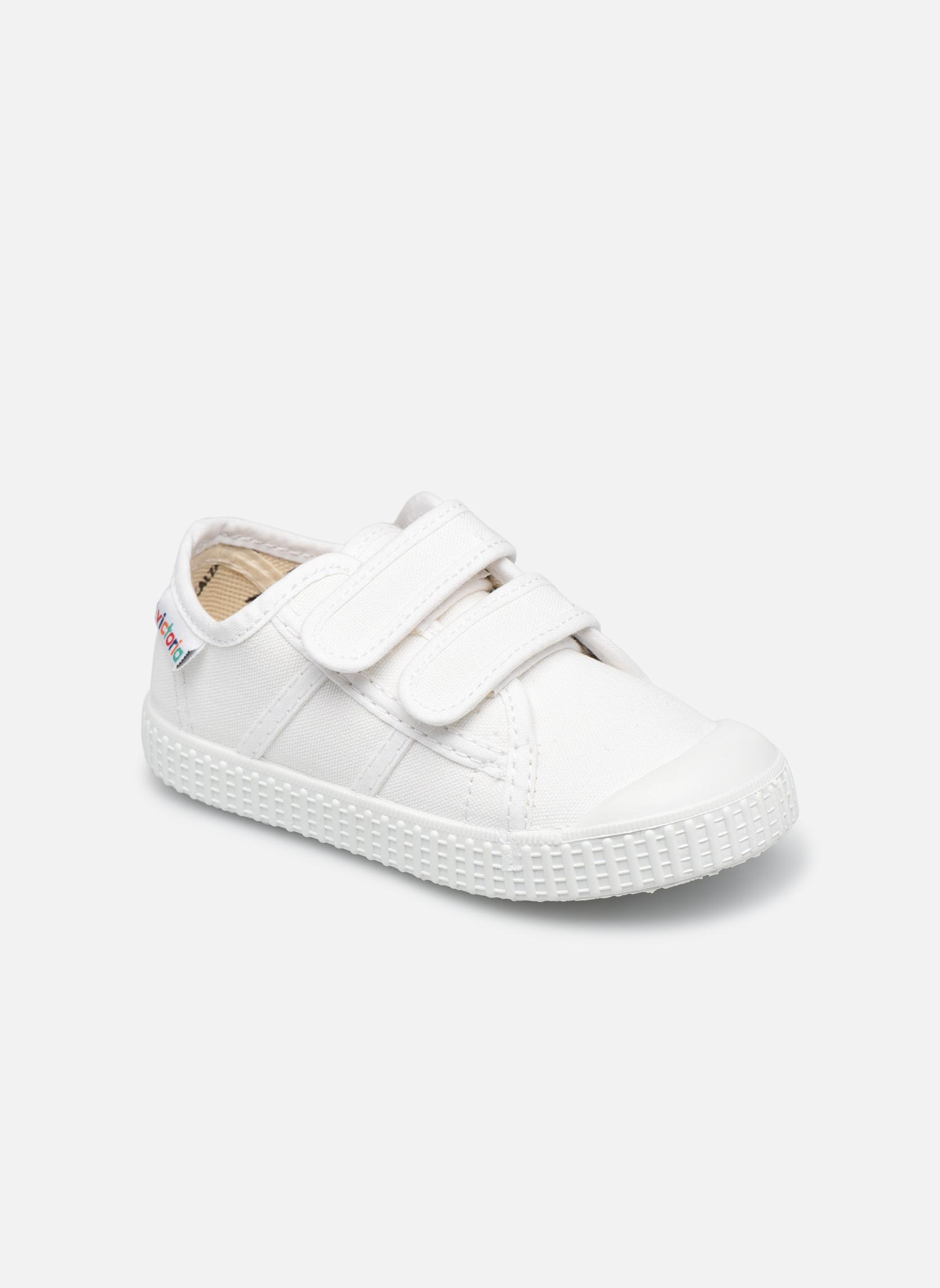 Sneaker Kinder Basket lona Dos Velcos