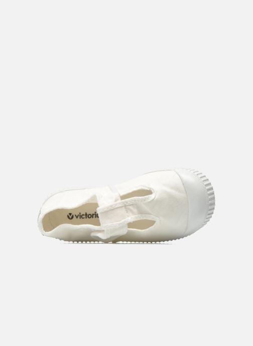Sneakers Victoria Sandalia Lona Tintada Velcr Hvid se fra venstre