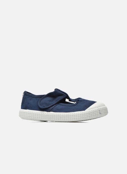 Sneakers Victoria Sandalia Lona Tintada Velcr Blauw achterkant