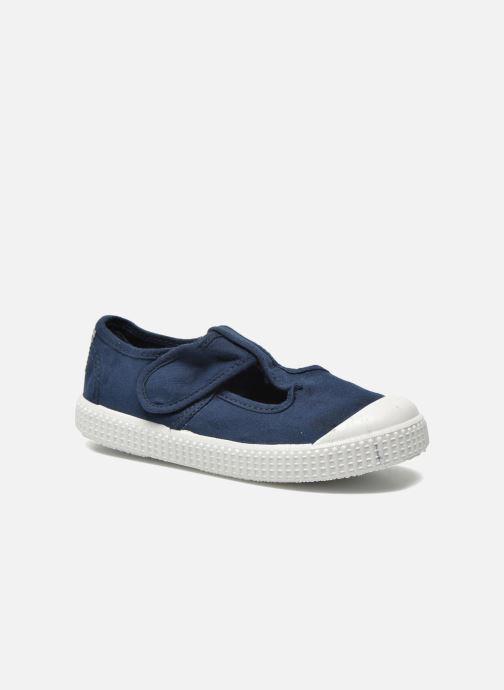 Sneakers Victoria Sandalia Lona Tintada Velcr Blauw detail