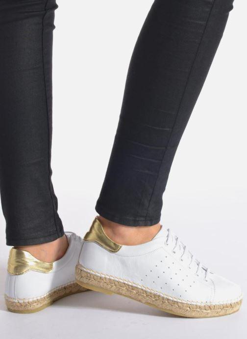 Sneakers La maison de l'espadrille Baskets 1035 Wit onder