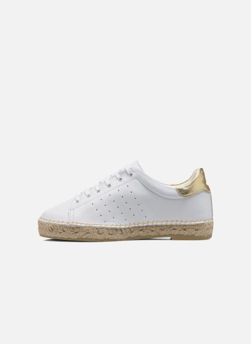 Sneakers La maison de l'espadrille Baskets 1035 Wit voorkant