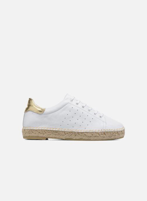 Sneakers La maison de l'espadrille Baskets 1035 Wit achterkant