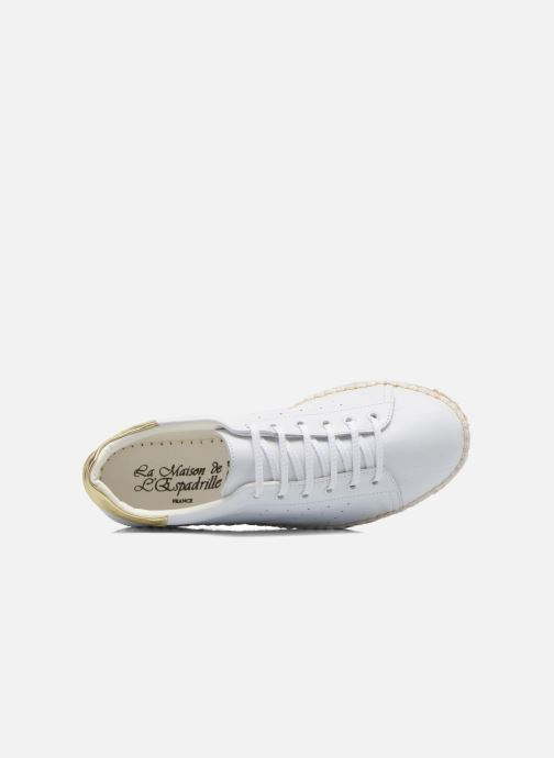 Sneakers La maison de l'espadrille Baskets 1035 Wit links