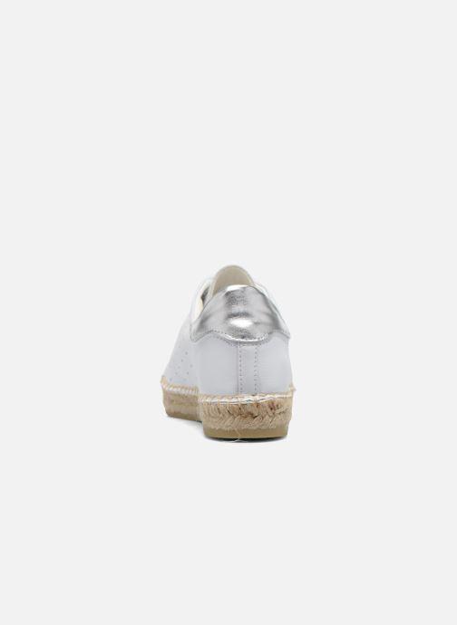 Sneakers La maison de l'espadrille Baskets 1035 Wit rechts