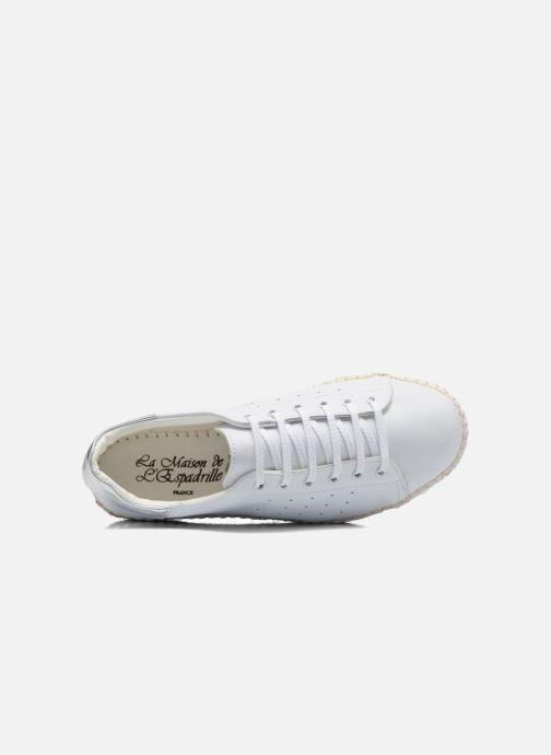 Sneakers La maison de l'espadrille Baskets 1035 Wit links
