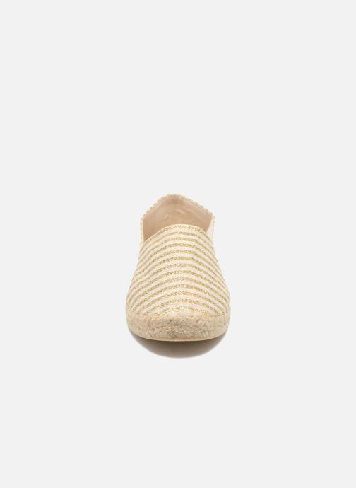 Espadrilles La maison de l'espadrille Espadrille 324 Vals Or et bronze vue portées chaussures
