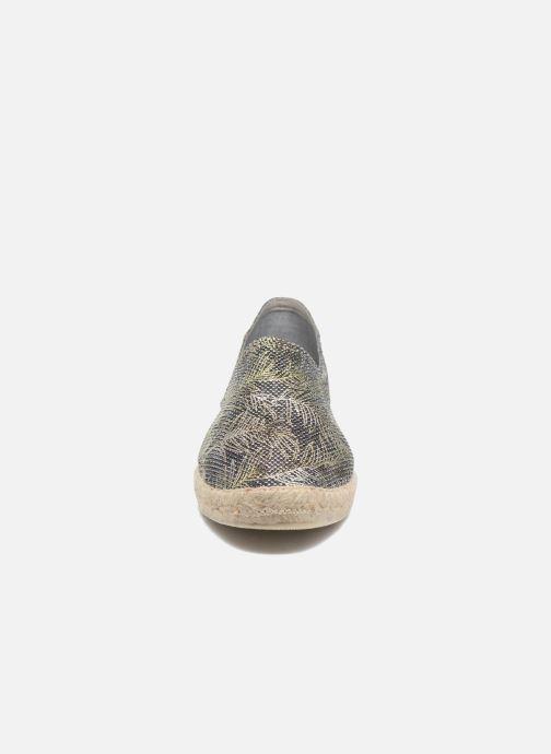 Espadrilles La maison de l'espadrille Espadrille 324 Vals Noir vue portées chaussures