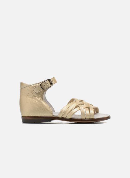 Sandales et nu-pieds Little Mary Virginia Or et bronze vue derrière