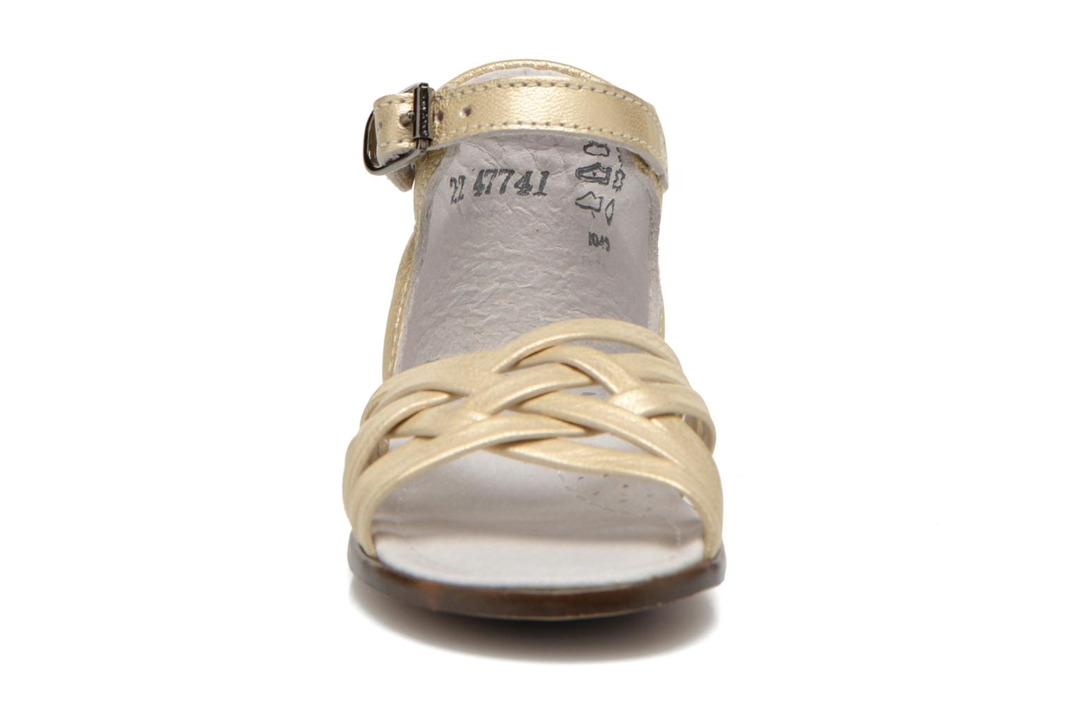 Sandals Little Mary Virginia Bronze and Gold model view