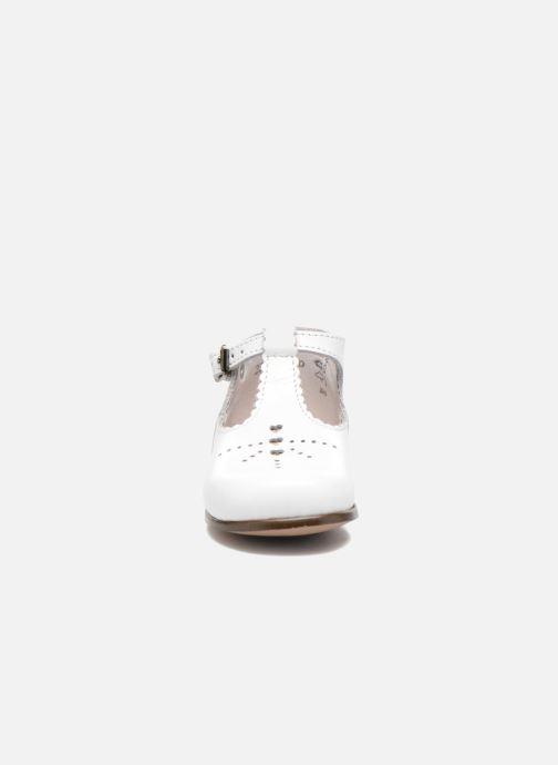 Bottines d'été Little Mary Floriane Blanc vue portées chaussures