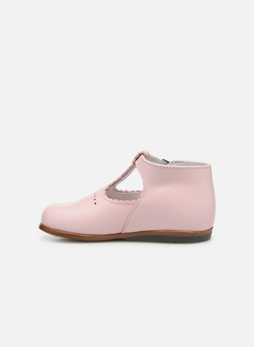 Bottines d'été Little Mary Floriane Rose vue face